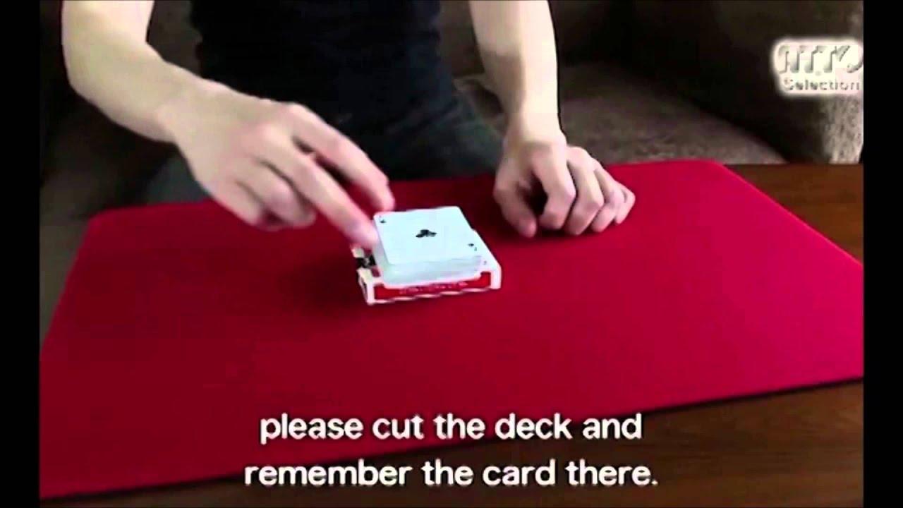 stealth deckmasuda (card magic) - trick - youtube