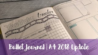 A4 Bullet Journal for Business 2018 update in Scribbles that Matter Journal