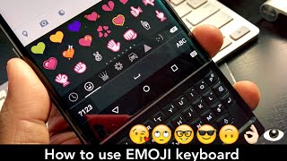 BlackBerry PRIV: Emoji on a BlackBerry