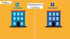 Facebook vs. LinkedIn for professionals - Infographic Video