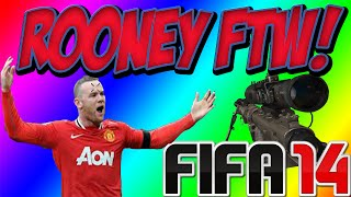 FIFA 14: ROONEY Final Minute Goal FTW (Seasons)