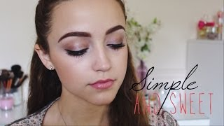 Simple Full Face Drugstore Makeup Tutorial