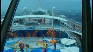 On 23rd april 2012, royal caribbean cruise ship 'independence of the seas' encountered a severe gale in bay biscay as sailed south bound for ...