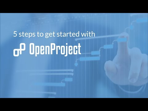 5 steps to get started with OpenProject