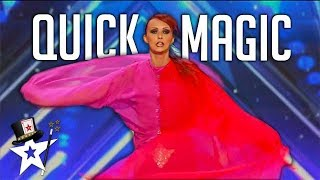 FAST Quick Chance Act WOW Judges on America's Got Talent | Got Talent Global