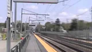 Amtrak Acela At 200 Mph (Sped Up For Demonstrational Purposes)
