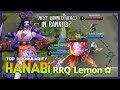 RRQ`Lemon ✿ Play New Hero Hanabi Resplendent Iris! Next Banned Hero in Ranked? ~ Mobile Legends