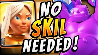 HOW CAN ANYONE BEAT THIS?! BATTLE HEALER + ELIXIR GOLEM = 😡😡😡 - Clash Royale