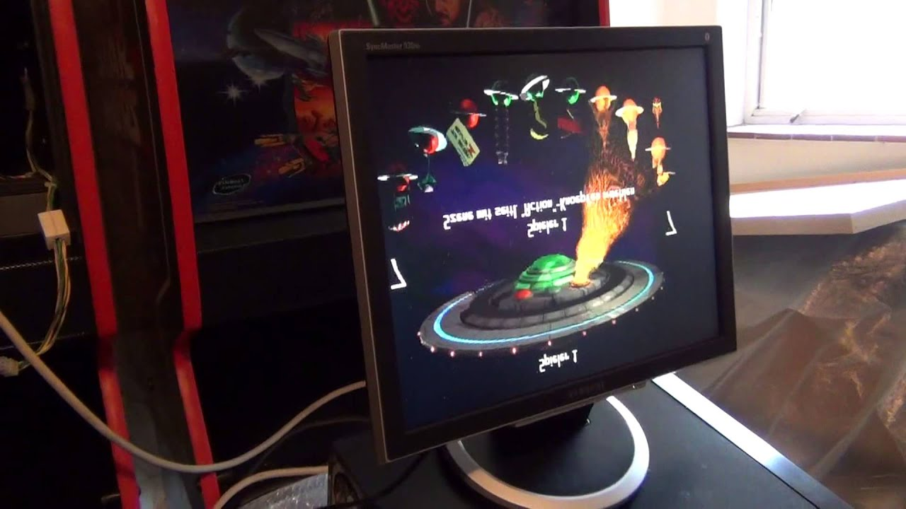 Testing Pinbox (Nucore) with a Revenge From Mars Pinball ...