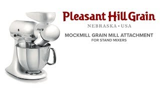 Mockmill grain mill for KitchenAid mixer