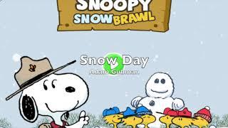 Snoopy Snow Brawl - Music by Adam Gubman (Moonwalk Audio)