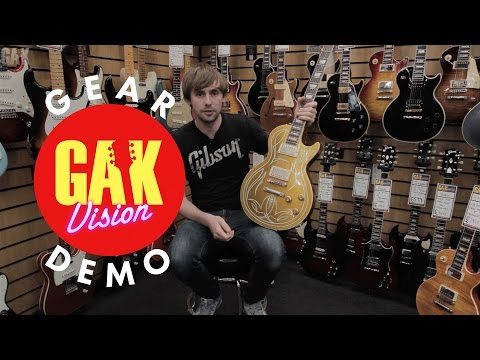 GAK VAULT : Gibson Custom Billy F. Gibbons Les Paul Goldtop VOS