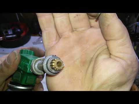 Газовая горелка .При увеличении подачи газа пламя срывает и гаснет.Не зажигает пьезоэлементом.