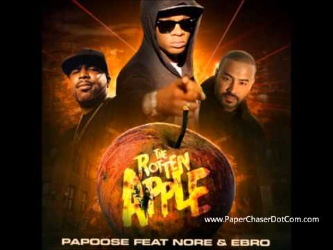 Papoose Ft. N.O.R.E. & Ebro - Rotten Apple (Jay Z Shot) (2013 New CDQ Dirty NO DJ)