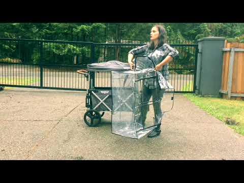 Keenz 7s Stroller Wagon -Rain Cover