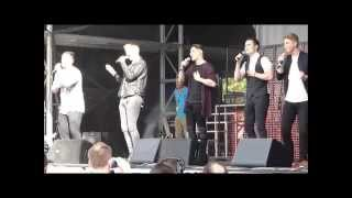 "Collabro: ""How Will I Know"". Brighton Pride 2014"