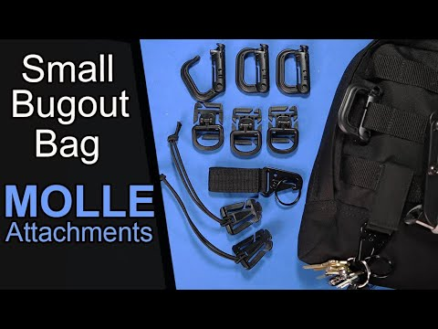 Download Bug Out Bag MOLLE Attachments (4 Kinds)