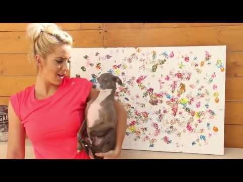 Dog Finger Painting