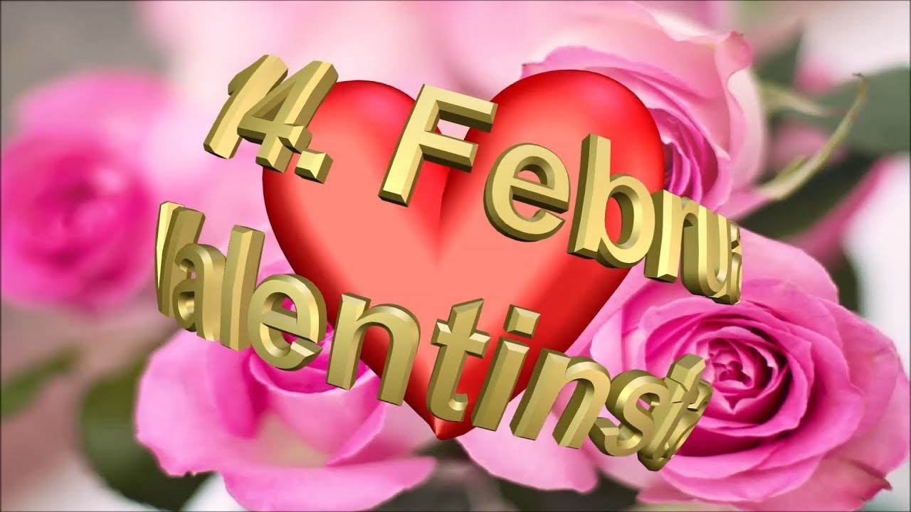 Liebe Grüße Zum Valentinstag Happy Valentine Day