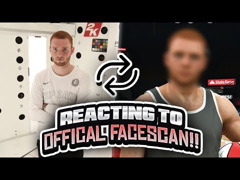 *FIRST LOOK* REACTING TO MY OFFICAL NBA 2K FACESCAN!! I'M IN A VIDEO GAME! (NBA 2K20)