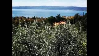 видео Озеро Больсена Италия – рай для рыбаков