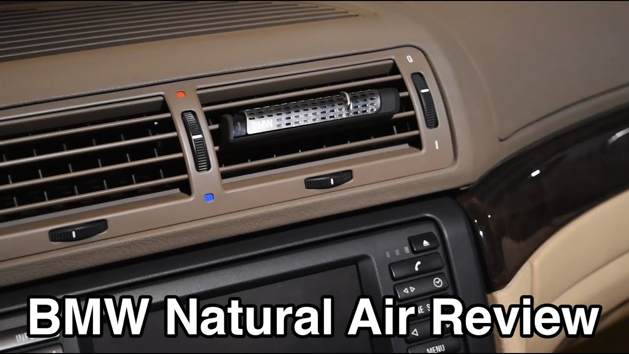 bmw natural air unboxing - youtube