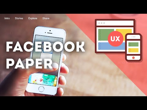 Facebook Paper • UX Review & Usability Case Study