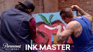 'Crayon Stacking Art?' 🖍️Flash Challenge Official Sneak Peek | Ink Master: Grudge Match (S11)
