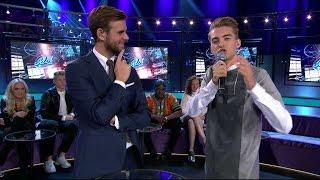 Magnus Englund imiterar Pär Lernström - Idol Sverige (TV4)