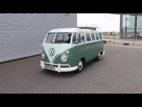 Volkswagen T1 Samba 1965 21 windows very good condition-VIDEO- www.ERclassics.com