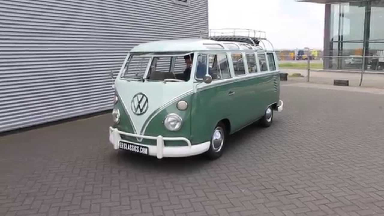 volkswagen t1 samba 1965 21 windows very good condition. Black Bedroom Furniture Sets. Home Design Ideas