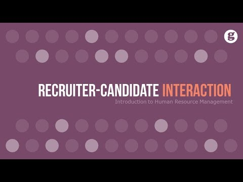 Recruiter-Candidate Interaction