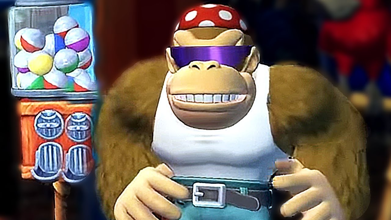 What Happens When Funky Kong Visit His Own Funky's Shop? Donkey Kong Country Tropical Freeze Switch