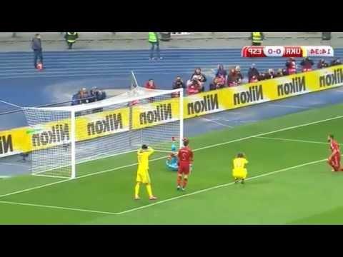 Highlights Ukraine - Spain 0-1 (Football EURO 2016 Qualifying)