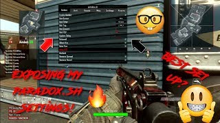 [BO2] EXPOSING MY PARADOX.SH SETTINGS! *NOT CLICKBAIT*