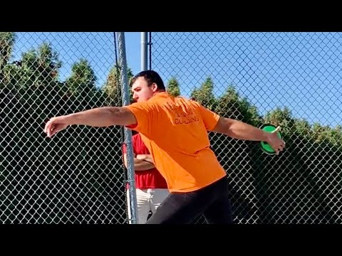 HUGE Throws At DISCUS TRAINING CAMP