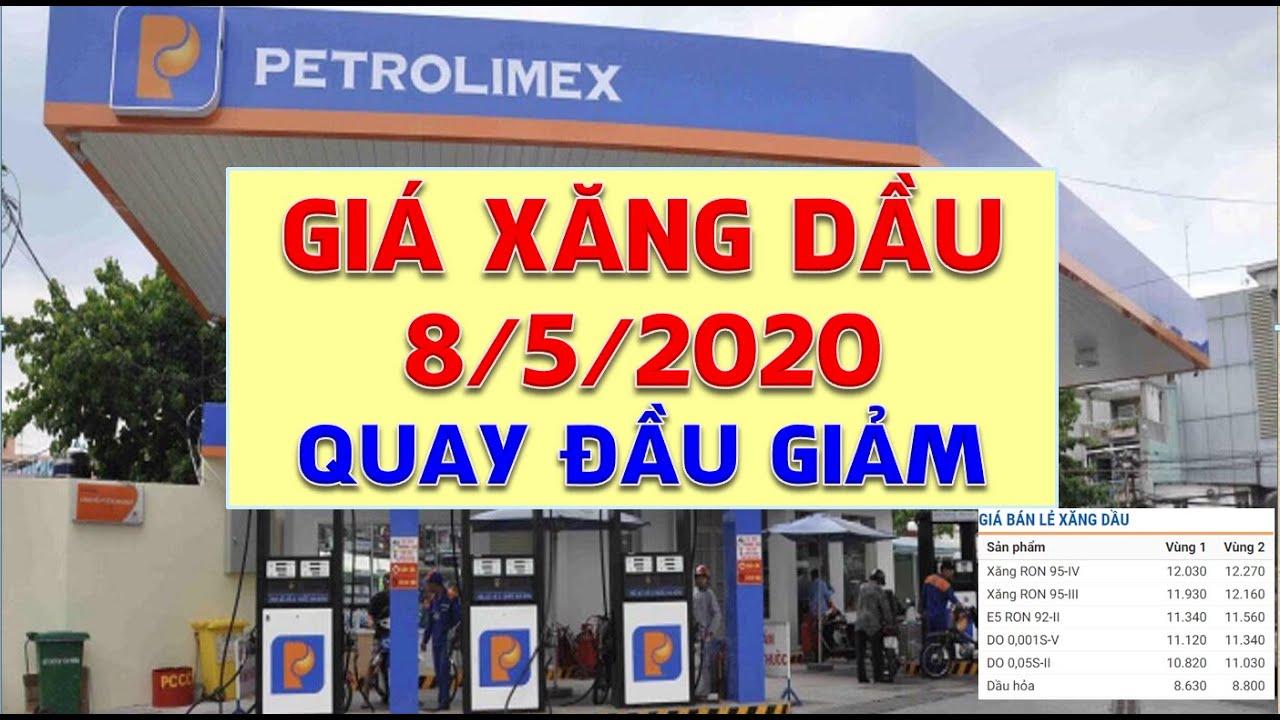 Giá xăng dầu hôm nay ngày 8/5/2020: Giá quay đầu giảm mạnh sau chuỗi ngày tăng phi mã