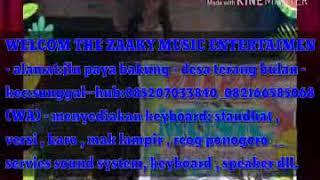 ZAAKY MUSIC Utusan rindu karaoke tanpa vokal