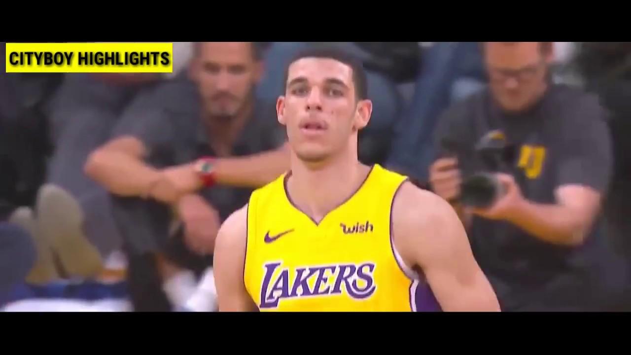 Lonzo Ball :: All Three-Pointers of 2017-2018 NBA Season