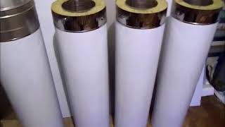 видео Купить Труба для дымохода из нержавеющей стали Ø160 мм (AISI 304) в Киеве и Украине