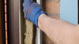 Монтаж откоса из гипсокартона на входных дверях 2 часть(, 2014-04-25T04:44:56.000Z)