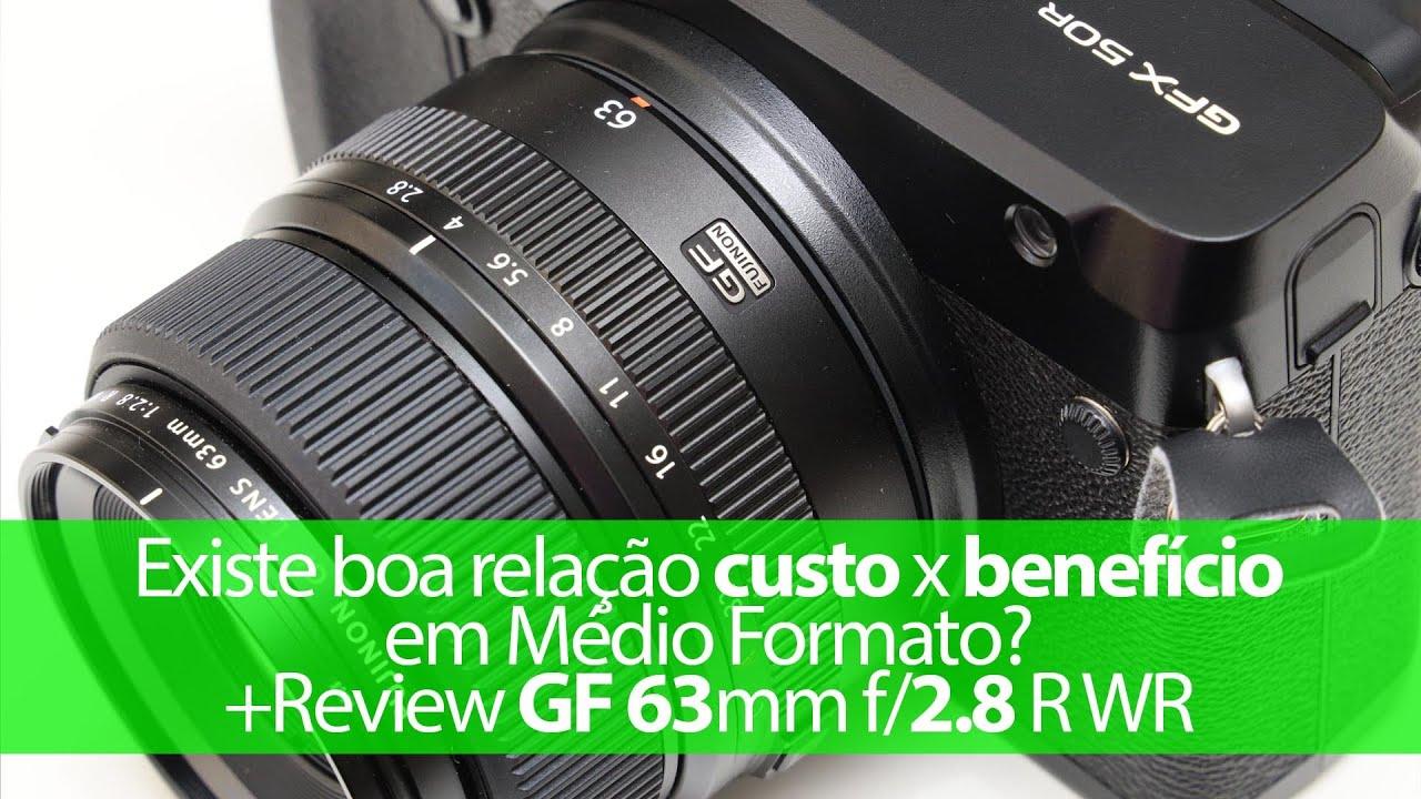 Existe boa relação custo x benefício em médio formato? + review da Fujinon GF 63mm R WR