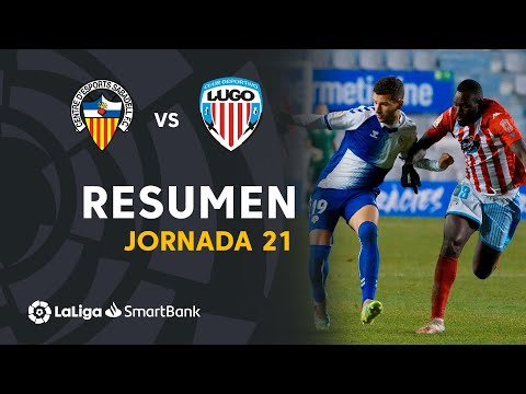 Sabadell CE Lugo Goals And Highlights