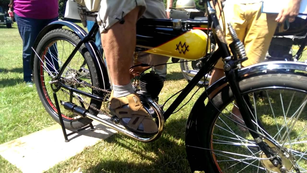 Az első Weiss Manfréd veterán motorkerékpár : 78 éves!!