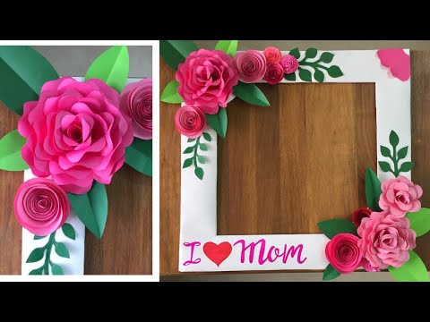 How to make Selfie Photo Frame | Selfie Photo Frame For Mother's Day