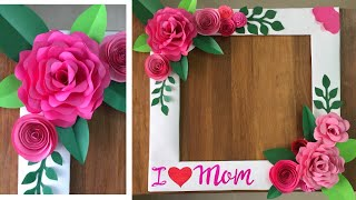 How to make Selfie Photo Frame   Selfie Photo Frame For Mother's Day