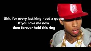 Repeat youtube video Love Game - Tyga Lyrics [HD]
