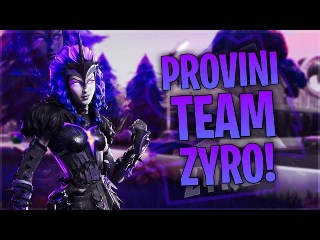 SE BATTI KYRUO IN 1 VS 1 ENTRI NEL TEAM|LIVE FORTNITE ITA/PROVINI PER IL TEAM ZYRO