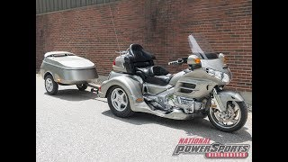 2002  HONDA  GL1800 GOLDWING 1800 TRIKE W/TRAILER  - National Powersports Distributors
