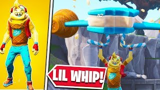 *NEW* LIL WHIP SKIN + ICE CREAM CRUISER GLIDER + ICE POP PICKAXE AND SPRINKLES WRAP SHOWCASE!